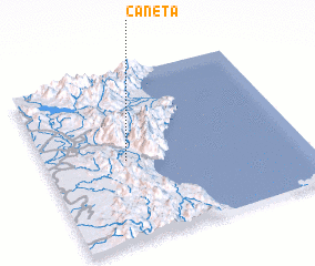 3d view of Caneta