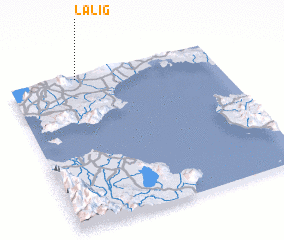 3d view of Lalig