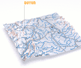 3d view of Duyun