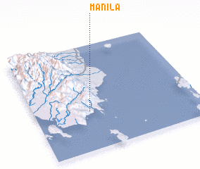 3d view of Manila