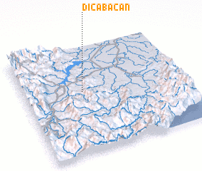 3d view of Dicabacan