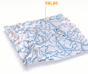 3d view of Kalao