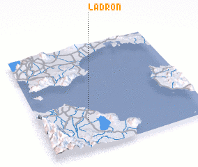 3d view of Ladron