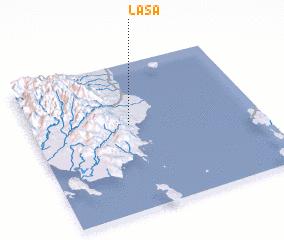 3d view of Lasa