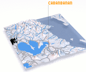 3d view of Cabanbanan