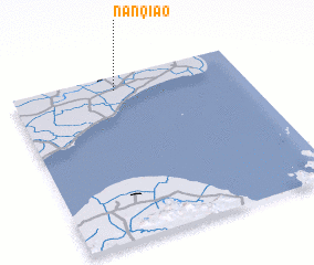 3d view of Nanqiao