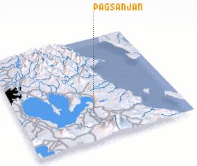 3d view of Pagsanjan