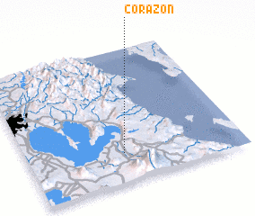 3d view of Corazon