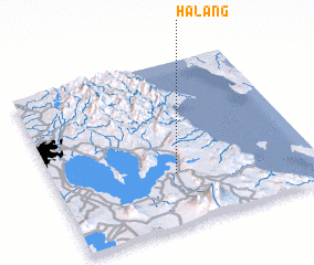 3d view of Halang
