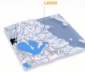 3d view of Laguio