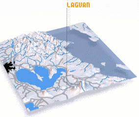 3d view of Laguan