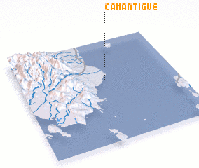 3d view of Camantigue