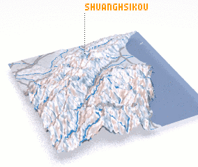 3d view of Shuang-hsi-k\