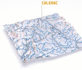 3d view of Calenac