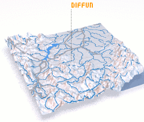 3d view of Diffun
