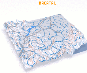 3d view of Macatal