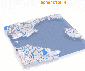 3d view of Ibabang Talim