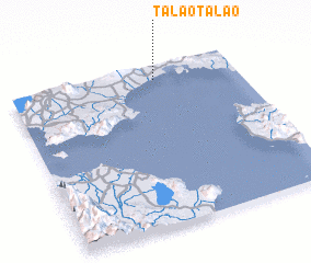 3d view of Talao-talao