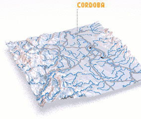 3d view of Cordoba