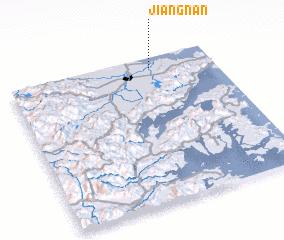 3d view of Jiangnan