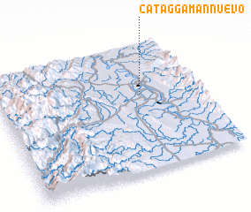 3d view of Cataggaman Nuevo