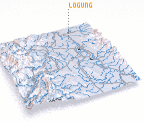 3d view of Logung