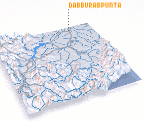 3d view of Dabburab Punta