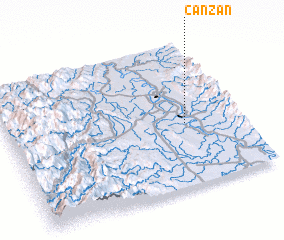 3d view of Canzan