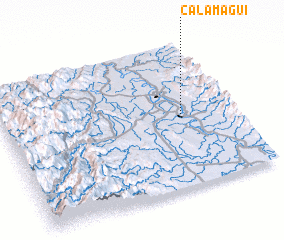 3d view of Calamagui