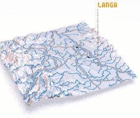 3d view of Langa
