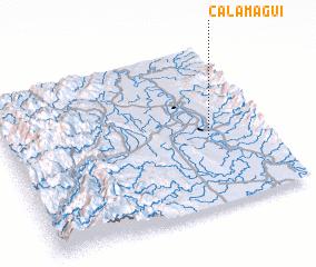 3d view of Calamagui