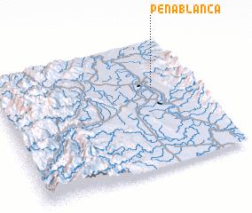 3d view of Peñablanca