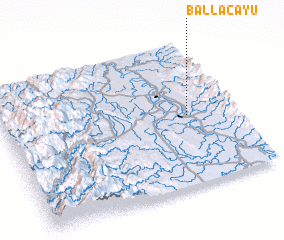 3d view of Ballacayu