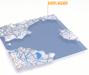 3d view of Danlagan