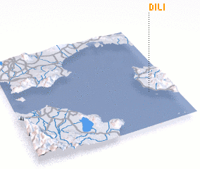 3d view of Dili