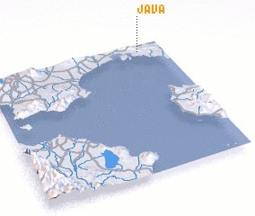 3d view of Java