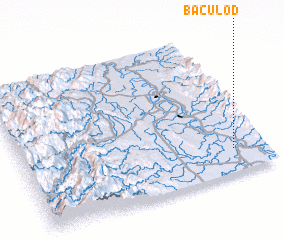3d view of Baculod