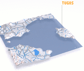 3d view of Tugos