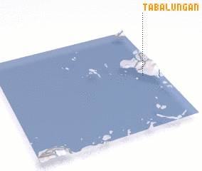 3d view of Tabalungan