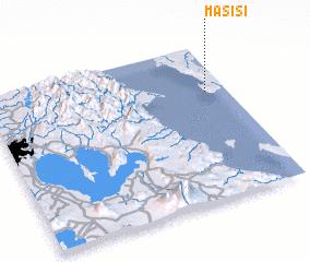 3d view of Masisi