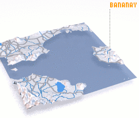3d view of Bananay