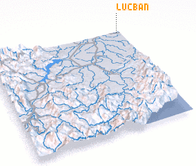 3d view of Lucban
