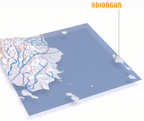 3d view of Odiongan