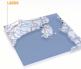 3d view of Lagdo