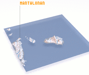 3d view of Mantalonan