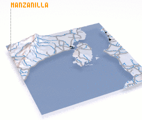 3d view of Manzanilla