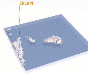 3d view of Calapi