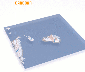 3d view of Canoban