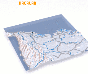 3d view of Bacalan