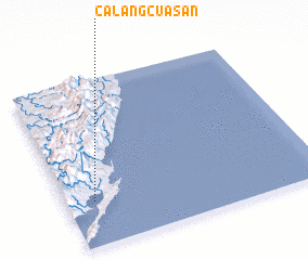 3d view of Calangcuasan